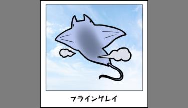 【未確認生物図鑑035】空飛ぶエイ フライングレイ